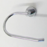 Zetta Chrome Designer Fixed Toilet Roll Holder - 01097060